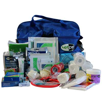 Handy First Aid Kits to assist with Equine Injuries